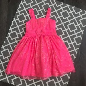Pink party dress Girls (12)